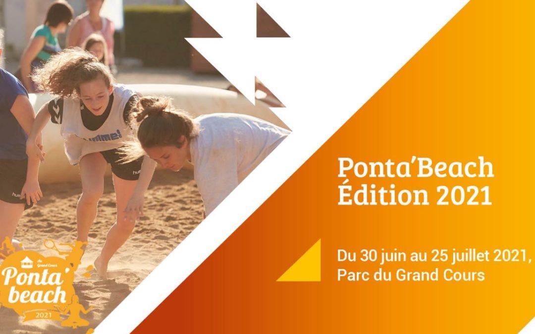 Bénévoles pour la Ponta'Beach